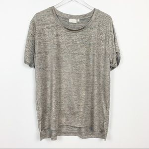 Anthropologie | Deletta Shimmered Tee